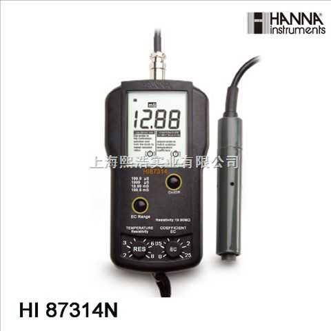 哈纳电阻率/电导率测定仪