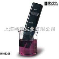 HI98308意大利哈纳笔式纯水电导率仪