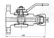 HYQ系列测量管路球阀