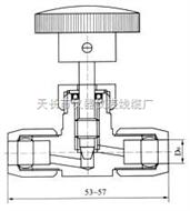 HY6系列气动管路截止阀