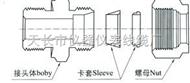 HYG1S系列钢制双卡套式管接头