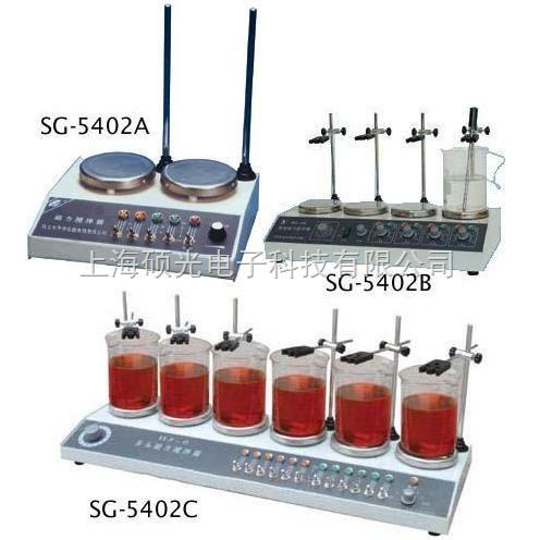 SG-5402-SG-5402系列多头加热型磁力搅拌器
