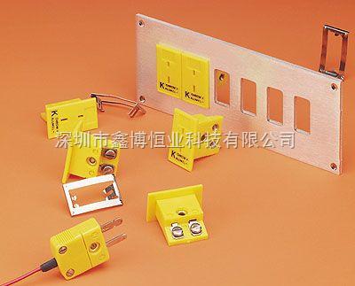 面板式热电偶插座 美国omega嵌入式热电偶插座