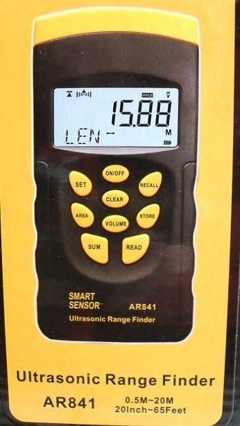 ar841激光定位20米超声波测距仪ar-841