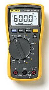 正品福禄克非接触式电压测量万用表Fluke 117C