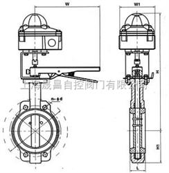 D71-信号蝶阀D71-信号蝶阀