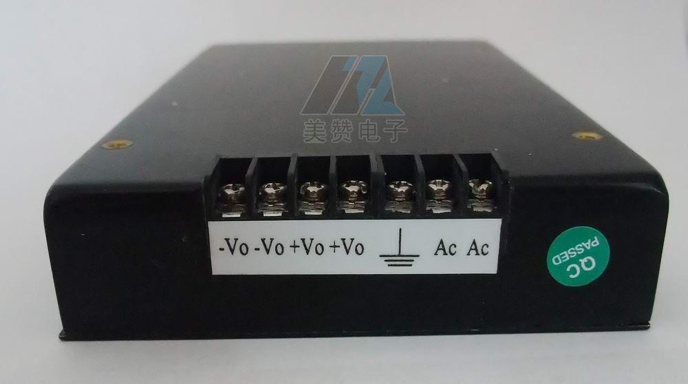 杭州美赞电子有限公司生产销售AC转DC、DC转DC1-2000W常规电源模块。 美赞MAF系列:输出功率100-200W,尺寸139*88*26mm,端子式电源 美赞MAG系列:输出功率150W-300W,尺寸159*98*27mm,端子式电源; 美赞MAH系列:输出功率200W-300W,尺寸180*115*27mm,端子式电源; 美赞MAJ系列:输出功率100-350W,尺寸196×162×60mm,端子式电源