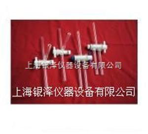 3.00聚四氟乙烯丁字(三通)双斜孔节门(配玻壳)
