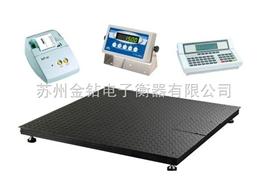 全自动焊接3吨地磅秤 单层常规磅秤 1.5m平台称