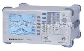 GSP-827中国台湾固纬GSP-827频谱分析仪