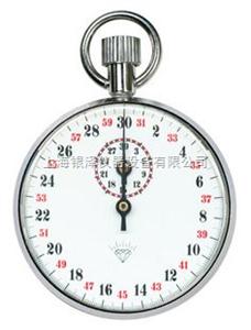 JM-S505不锈钢石英玻璃机械秒表