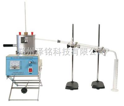 SYD-255A液体石油沥青蒸馏试验器   液体石油沥青蒸馏试验器(SYD-255A)