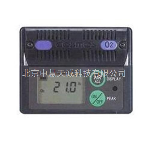 便携式氧气检测仪/扩散式氧气浓度计 日本