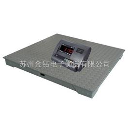 SCS12122米*2米電子地磅。5噸電子平臺秤,10T地上衡報價