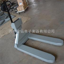 XK化工厂可移动隔离防爆叉车秤