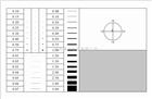 A4点线规,对比卡,品质检验卡