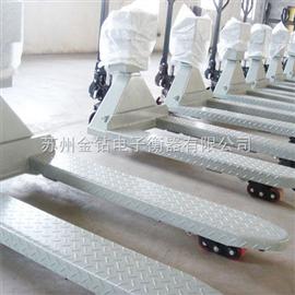 SCS河南2吨不锈钢叉车秤,郑州2.5T移动叉车秤价格,叉车秤特价促销
