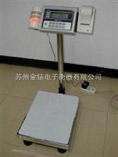 TCS-1006-300kg不干膠打印電子秤,國內組裝電子臺秤,300公斤電子秤什么價格
