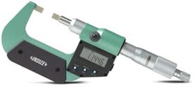 数显0-25mm/150-175mm叶片千分尺(数据输出)