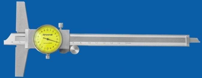 0-150mm 0-200mm带表深度卡尺