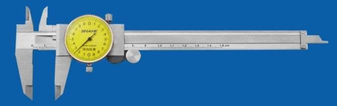 0-150mm 0-200mm 0-300mm带表卡尺