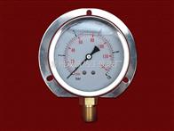 不锈钢膜盒压力表-抗振差压表