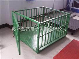 SCS昆明200斤電子秤,不銹鋼防水牲畜秤,抗油污牲畜秤/易沖洗
