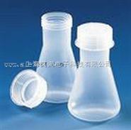塑料带盖锥形烧瓶,宽口