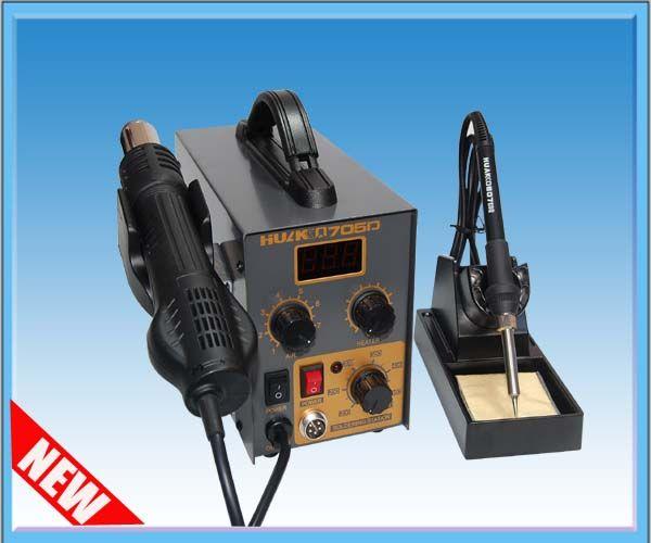 huako 705d 华光防静电数显2合1热风拆焊台huako705d