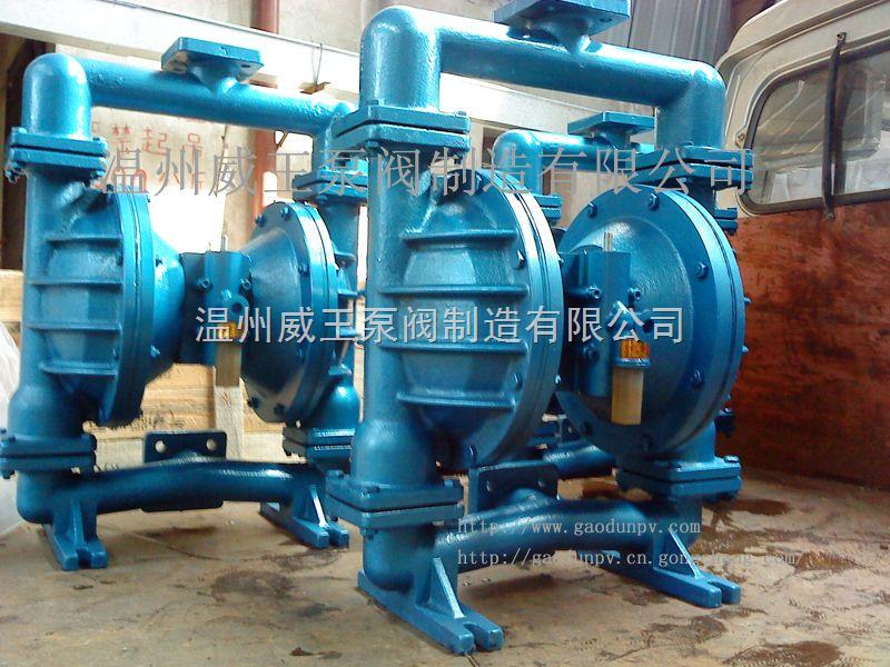气动隔膜泵全系列,泵阀之乡专业隔膜泵制造商