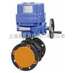 ZHJQ上海-電動調節球閥-電動調節閥