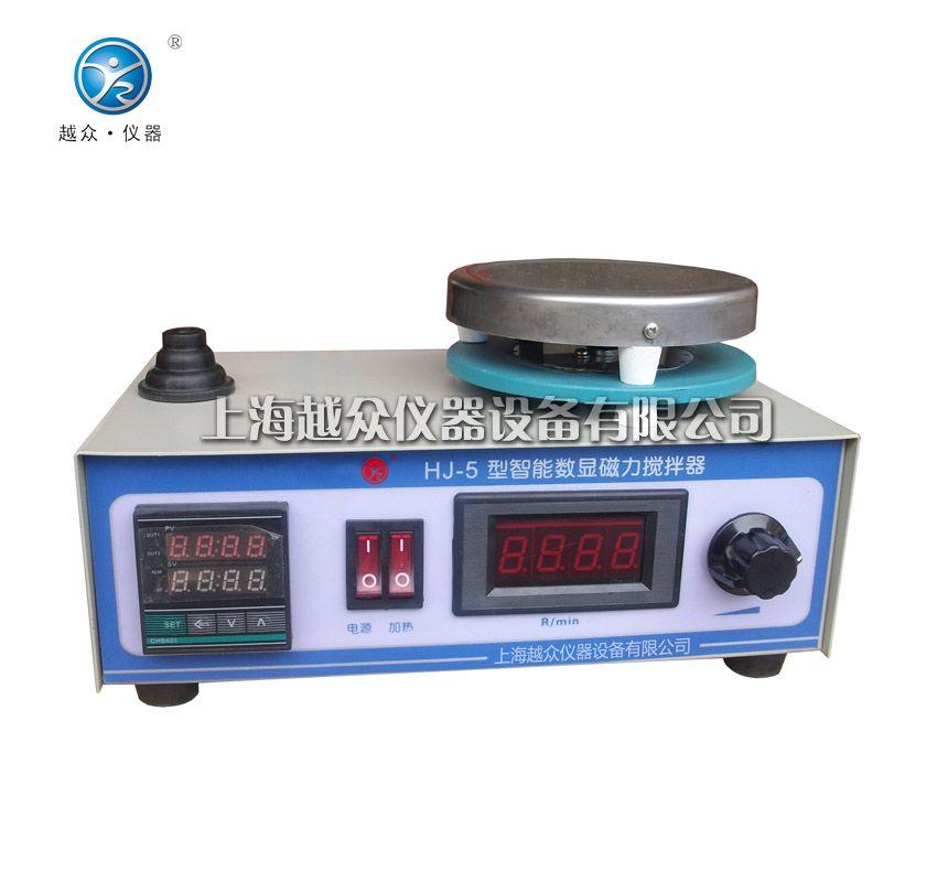 智能数显磁力加热搅拌器