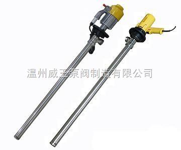 SB型电动抽液泵┃电动油桶泵生产厂家,价格,结构图