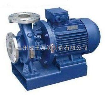 ISWH型卧式单级不锈钢管道离心泵生产厂家,价格,结构图