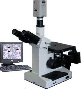 电脑数据处理金相显微镜