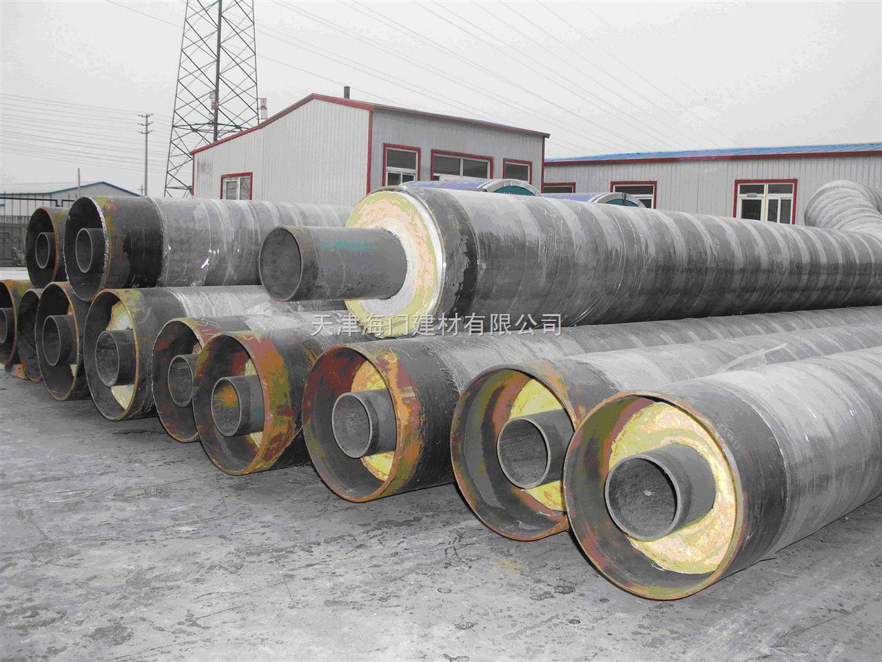 蒸汽直埋保温管,高温蒸汽保温管,钢套钢直埋保温管