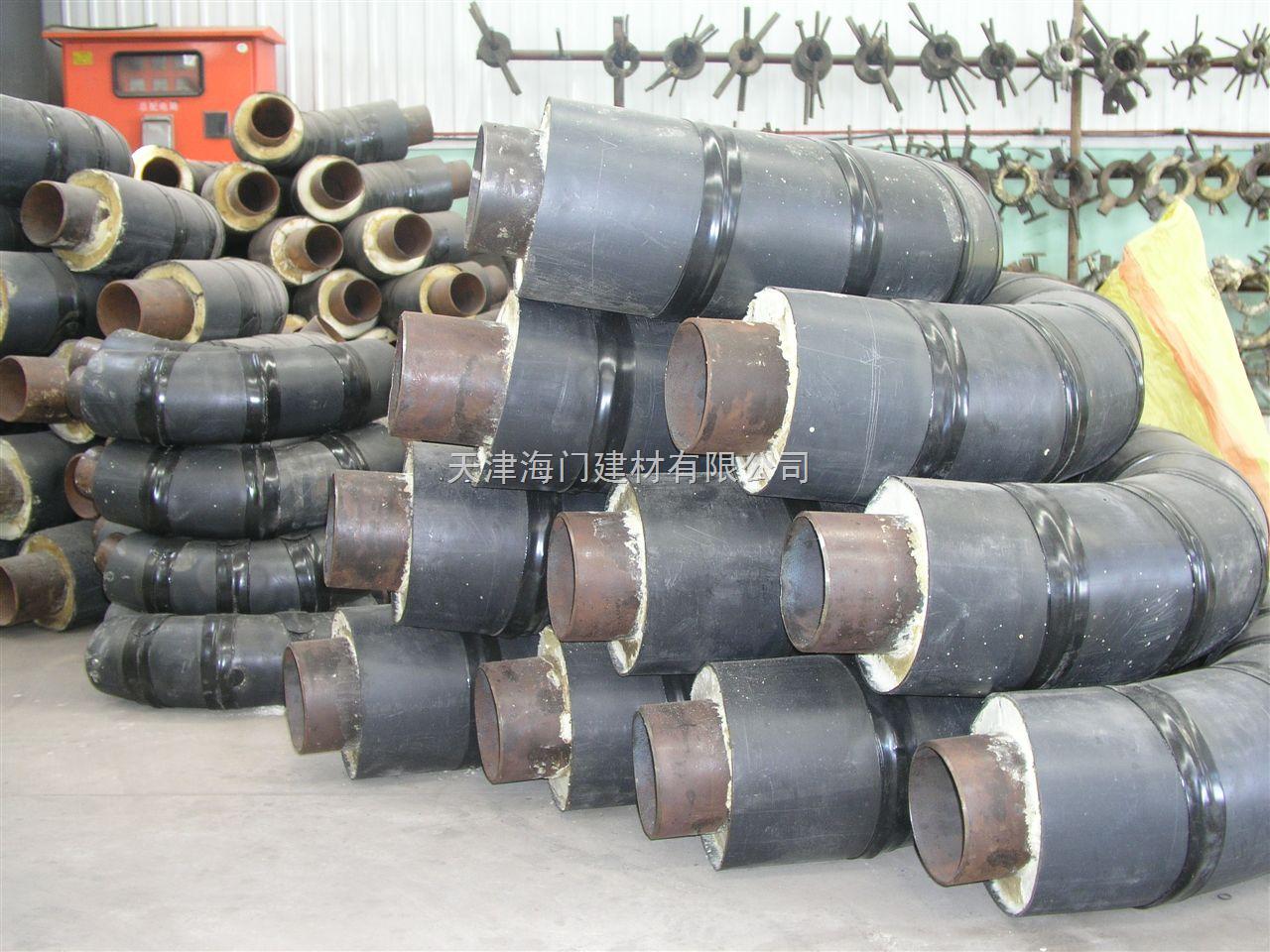 钢套钢保温管件,蒸汽直埋保温管,高温蒸汽保温管