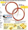 SA2系列omega热电偶|omega自粘式热电偶|SA2系列热电偶