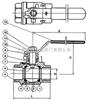 Q11Q11-二片式內螺紋球閥