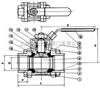 Q61Q61-三片式承插焊球閥