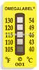 TL-5-105-10,TL-5-190-30,TL-5-240-10,TL-5-340-30,TL五格测温纸|美国omega五格不可逆测温纸