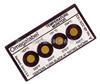 美国omega测温纸|4A,4B,4C系列测温纸|美国omega四格不可逆测温纸