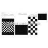 250×140mm黑白格/斜紋卡紙