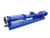 卫生级G型单螺杆泵 全不锈钢卧式螺杆泵 污水处理螺杆泵